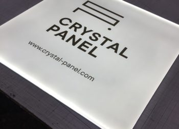 crystal panel LED