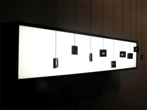 podświetlenie dekoracyjne led crystal panel