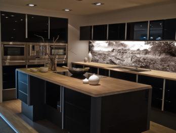 Panel in der Küche