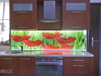 panel led do kuchni obraz