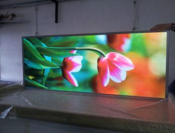 panel led obraz podświetlenie krawędziowe