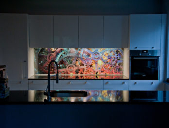 panel ledowy z obrazem do kuchnii
