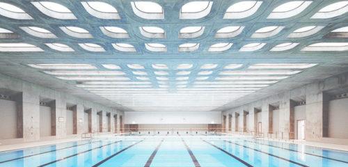 oświetlenie led basen panele lgp crystal