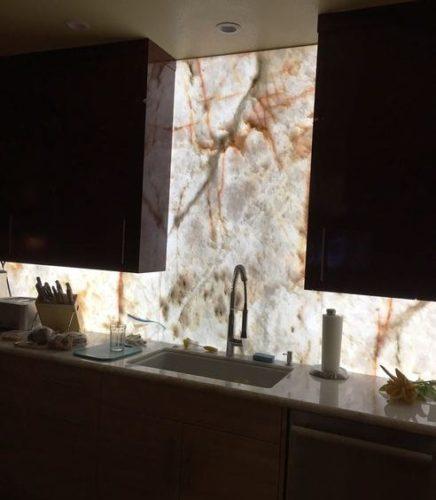 światło w kuchni panel led crystal panel