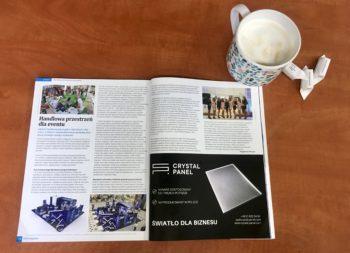 Crystal Panel dla OHH magazine