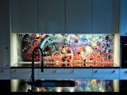 backlight led crystal panel