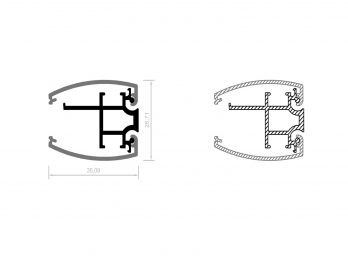 Profil aluminiowy CPA15
